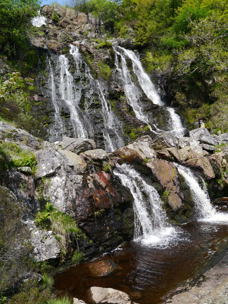 Lake Vyrnwy Waterfalls
