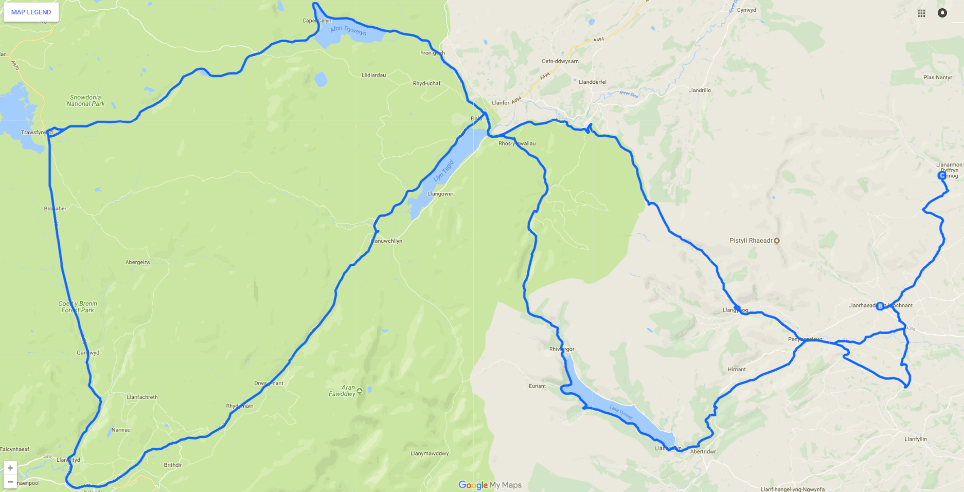 Four lake tour