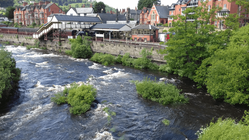 River Dee at Llangollen