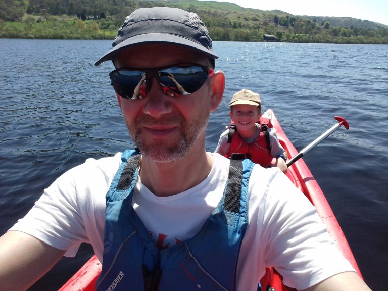 Canoe on Bala Lake
