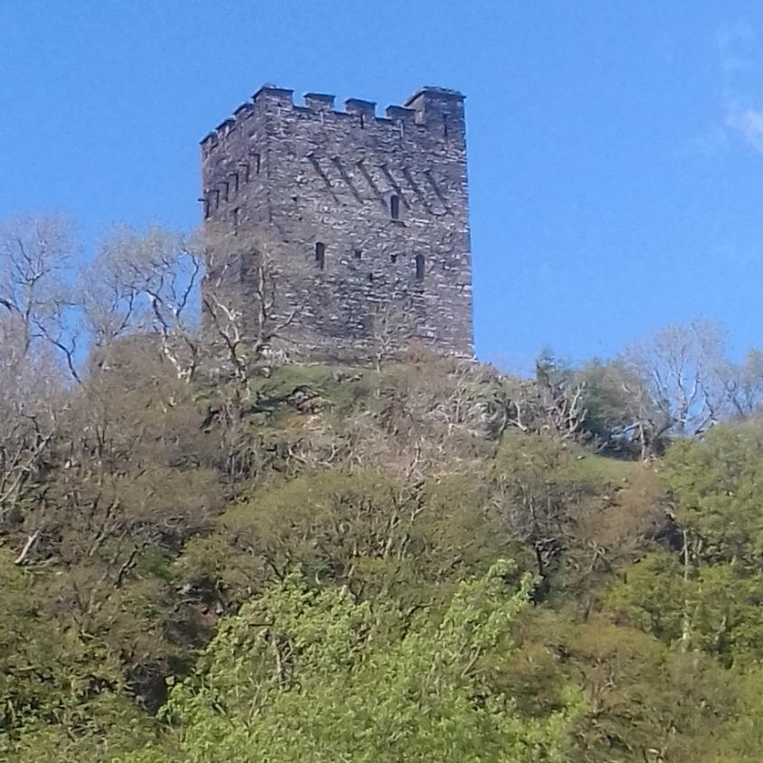 Dolwyddelan Castle in North Wales