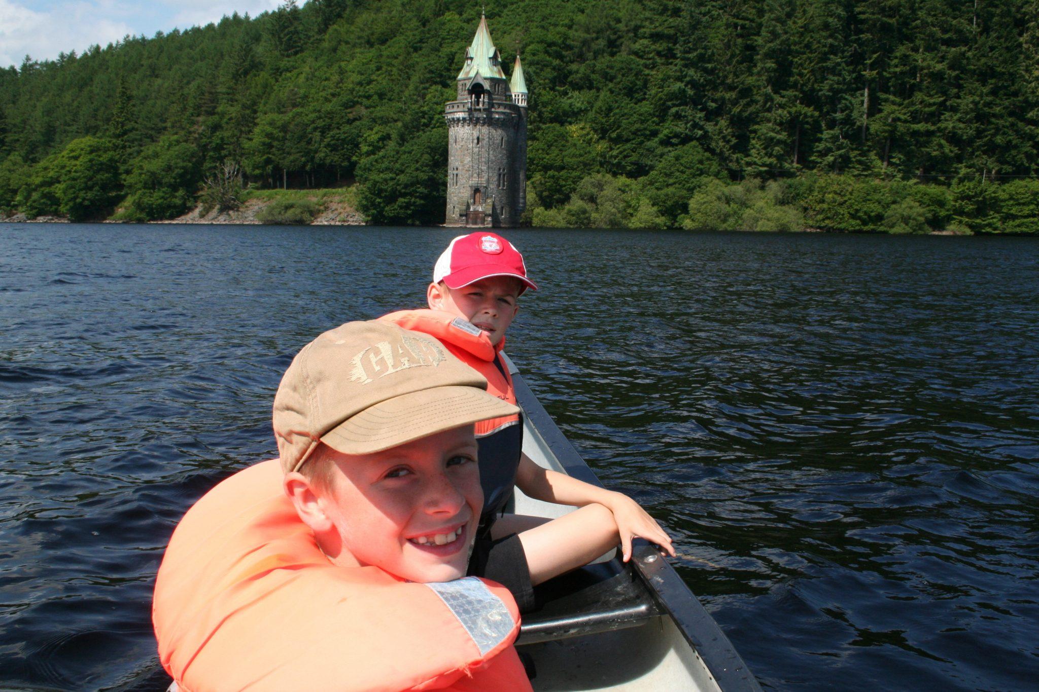 Lake Vyrnwy Canoe
