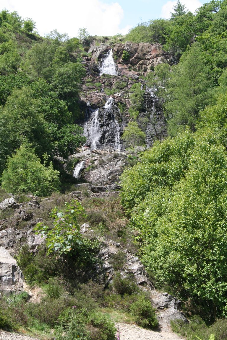 Rhiwargor waterfalls - Lake Vyrnwy